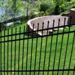 ornamental iron on slope
