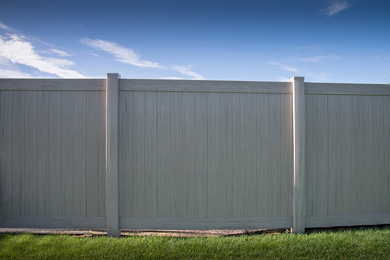 Driftwood Pvc Fence Durable Fencing